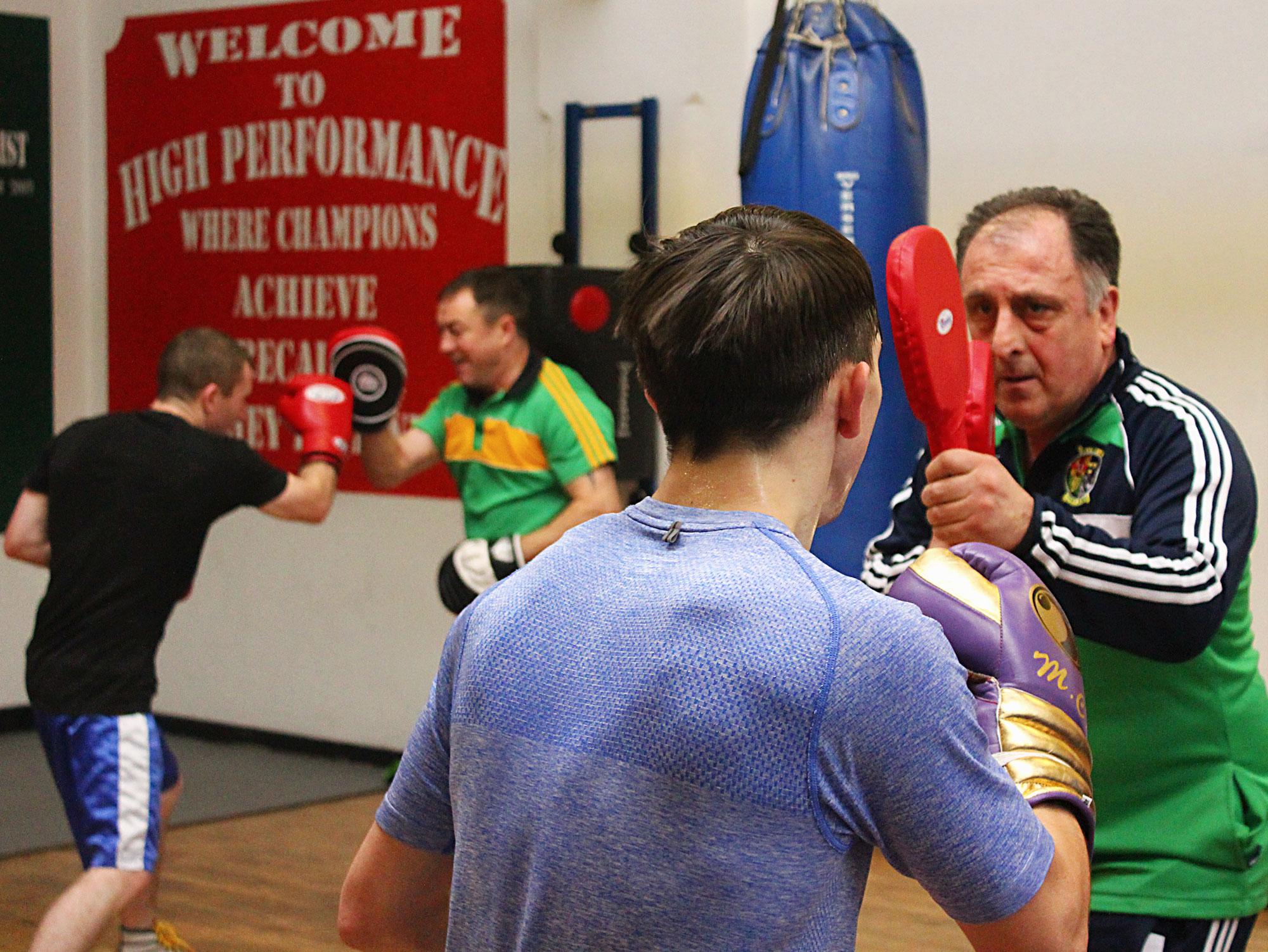 Michael Conlan & Paddy Barnes sparring